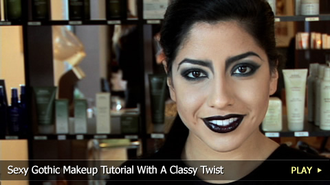 goth makeup tutorial. Sexy Gothic Makeup Tutorial