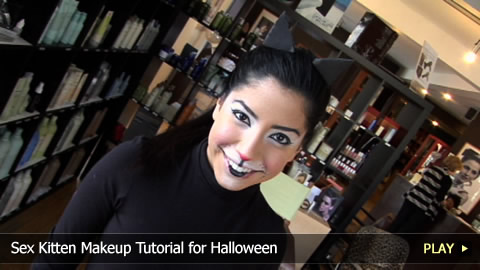 Sex Kitten Makeup Tutorial for Halloween