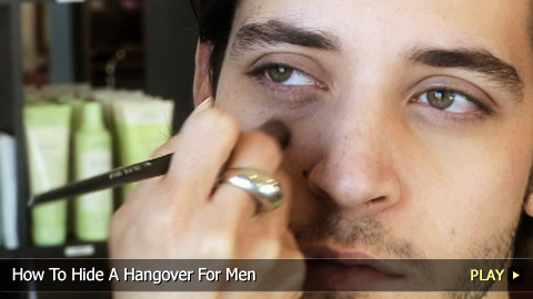 How To Hide A Hangover For Men