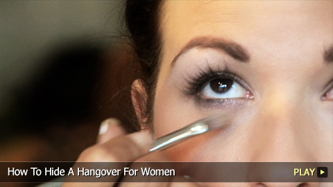 How To Hide A Hangover For Women