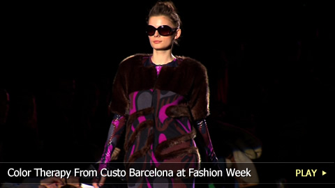 Color Therapy From Custo Barcelona at Fashion Week