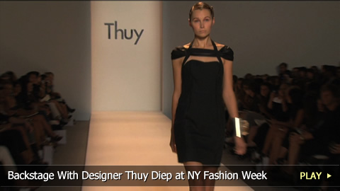 Backstage With Designer Thuy Diep at New York Fashion Week