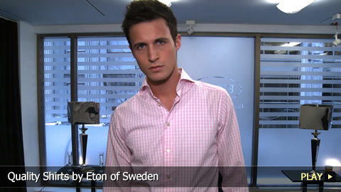 Quality Shirts by Eton of Sweden