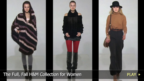 The Full, Fall H&M Collection for Women