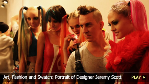 Art, Fashion and Swatch: Portrait of Fashion Designer Jeremy Scott
