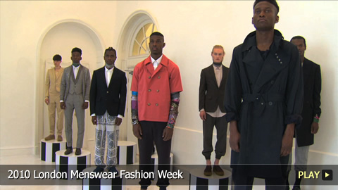 2010 London Menswear Fashion Week