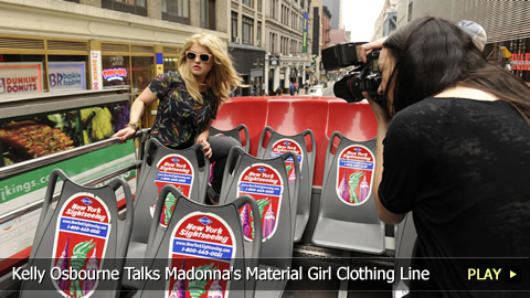 Kelly Osbourne Talks About Being the Face of Madonna's Material Girl Clothing Line