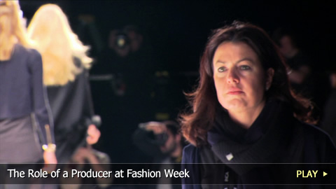 The Role Of A Producer at Fashion Week