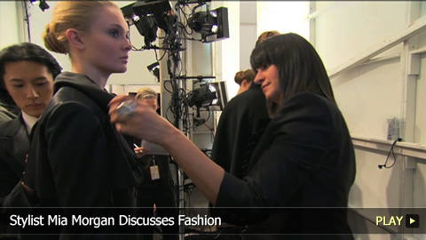 Stylist Mia Morgan Discusses Her Fashion Career