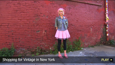 Shopping For Vintage in New York