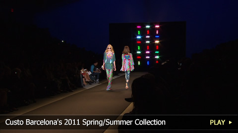 Custo Barcelona's 2011 Spring/Summer Collection