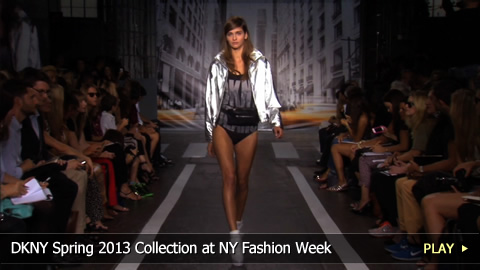 Donna Karan's DKNY Spring 2013 Collection at New York Fashion Week