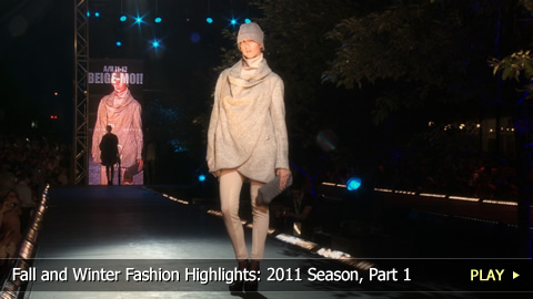 Fall and Winter Fashion Highlights: 2011 Season, Part 1