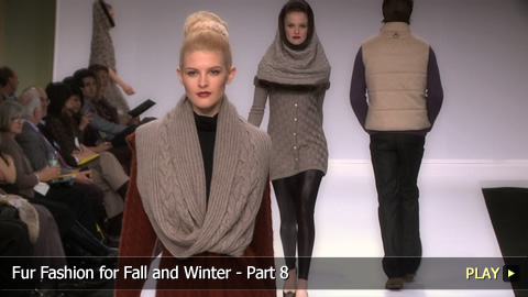 Fur Fashion for Fall and Winter - Part 8