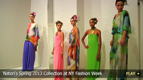 Natori's Spring 2013 Collection at New York Fashion Week