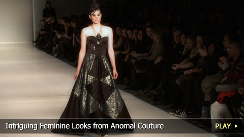 Intriguing Feminine Looks from Anomal Couture