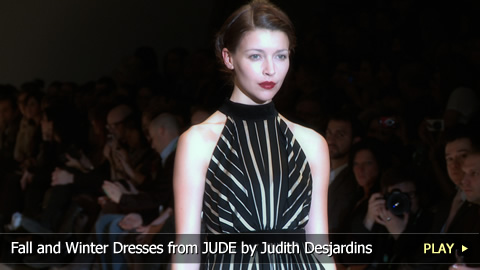 Fall and Winter Dresses from JUDE by Judith Desjardins