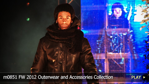 m0851 Fall and Winter 2012 Outerwear and Accessories Collection: Fashion Show