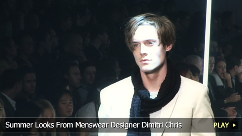 Summer Looks From Menswear Designer Dimitri Chris