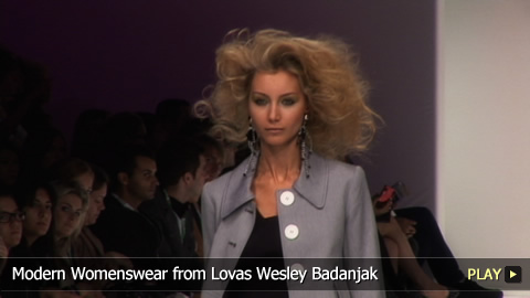 Modern Womenswear from Lovas Wesley Badanjak