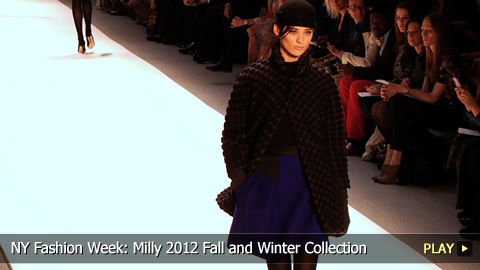 New York Fashion Week: Milly 2012 Fall and Winter Collection
