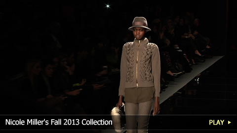 Nicole Miller's Fall 2013 Collection at Mercedes-Benz Fashion Week: New York