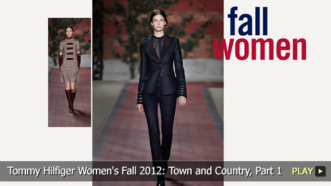 Tommy Hilfiger Women's Fall 2012 Collection: Town and Country, Part 1