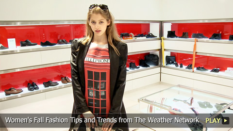 Women's Fall Fashion Tips and Trends from The Weather Network