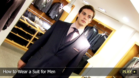 Men's Fashion: How To Wear a Suit