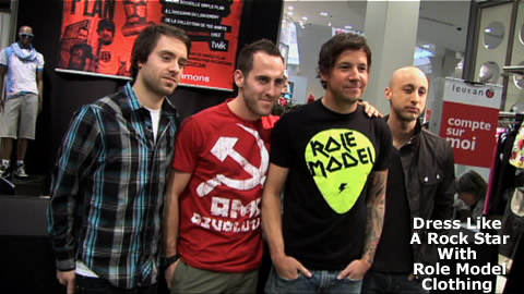 Role Model Clothing from Simple Plan