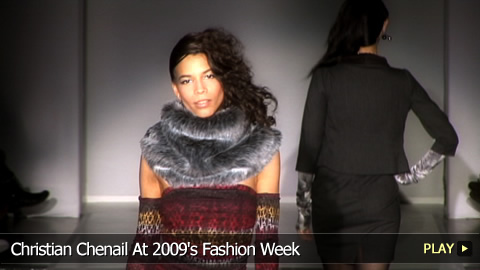 Christian Chenail At 2009's Fashion Week