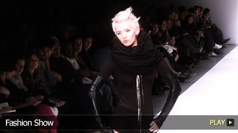 Marie Saint Pierre at Montreal's Fashion Week