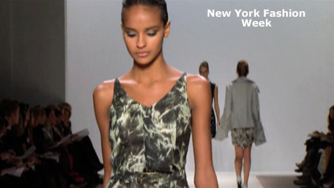 Brian Reyes at New York Fashion Week