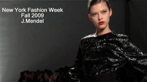 J Mendel at New York Fashion Week
