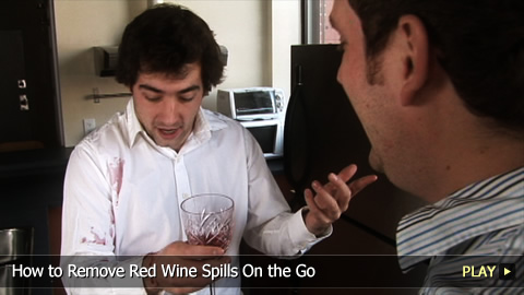 How To Remove Red Wine Spills On the Go