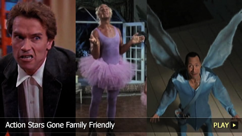 Action Stars Gone Family Friendly: From Kindergarten Cop to The Tooth Fairy