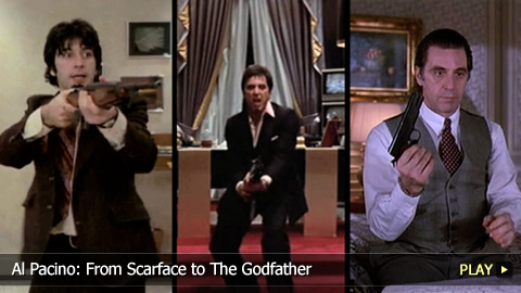 Al Pacino: From Scarface To The Godfather