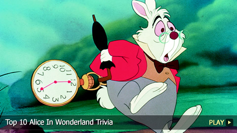 Top 10 Alice In Wonderland Trivia