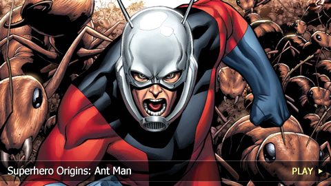 Superhero Origins: Ant Man
