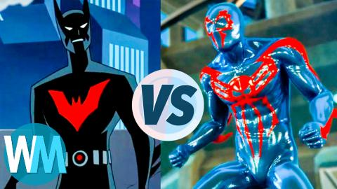 Batman Beyond vs. Spider-Man 2099