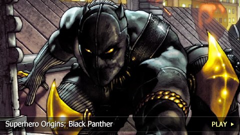 Superhero Origins: Black Panther