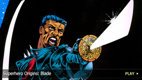Superhero Origins: Blade