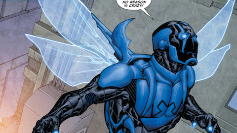 Superhero Origins: Blue Beetle