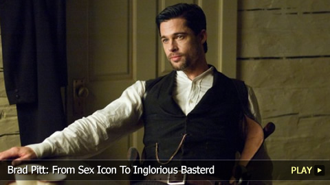 Brad Pitt: From Sex Icon To Inglourious Basterd