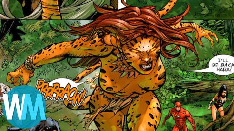 Comic Book Origins: Cheetah