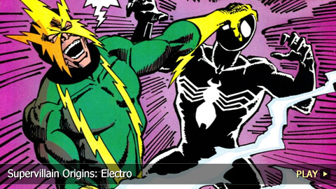 Supervillain Origins: Electro