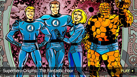 Superhero Origins: The Fantastic Four