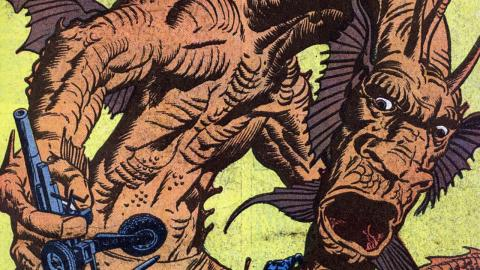 Supervillain Origins: Fin Fang Foom