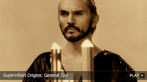 Supervillain Origins: General Zod