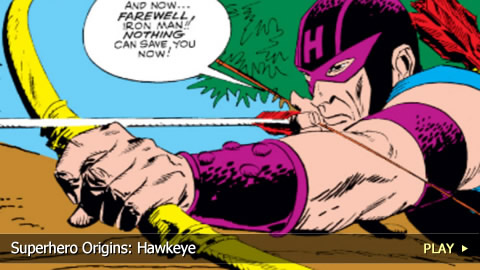 Superhero Origins: Hawkeye